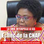 La DMK appelle les représentants du G5 à agir après l'échec de la CNAP