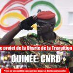 Le projet de la charte proposé pour la prochaine transition militaire en Guinée
